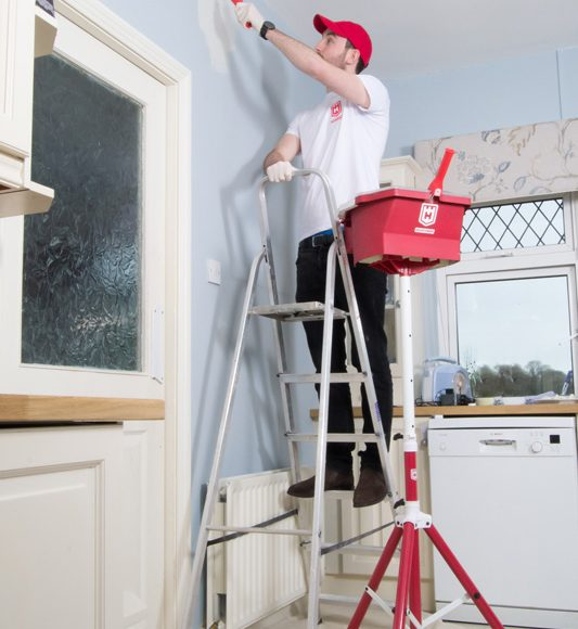 safety on ladder