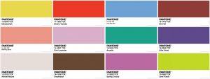 Pantone Colour Trends Spring 2018