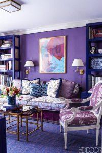 Ultra Violet Pantone Pain decor
